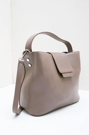 Lucy Octarina Contrasting Flap Sling Bag Brown b0d9c76de9