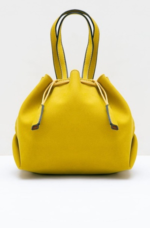 Onvaly Octarina Drawstring Sling Bag Yellow 778db55891