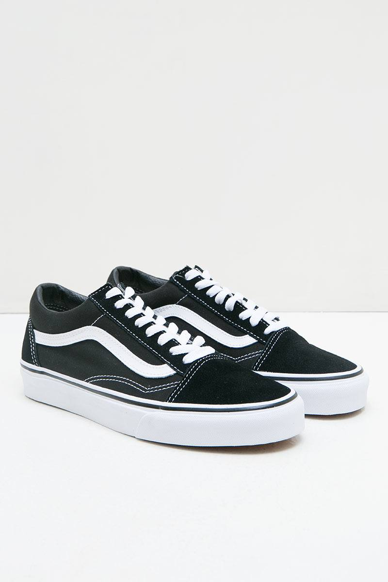 284eca8f578b07 Sell Vans U OLD SKOOL-CORE VN-0D3HY28 Black White 3 Women Sneakers ...