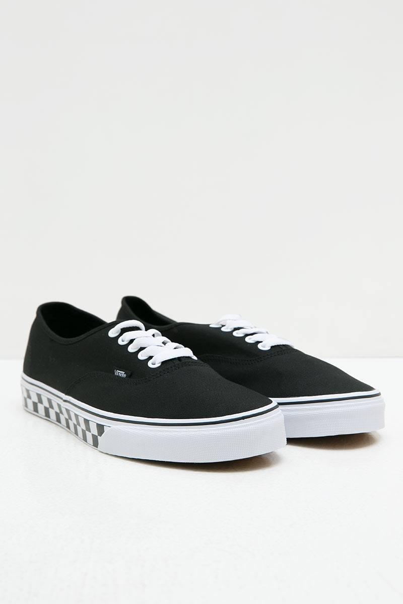 ee394765ec80 Sell Vans Authentic Checker Tape Black Men Sneakers