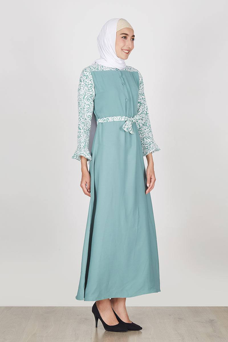 Sell Dress Mahya Mint Spesial For Hijabenka Dresses-and-jumpsuit ...
