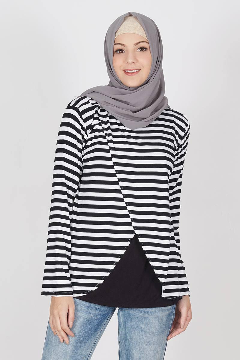 Info Harga En Ji By Palomino Taria Backpack Black Update 2018 Sherly Handbag Sell Tiara Panjang Hitam Salur Putih Tops