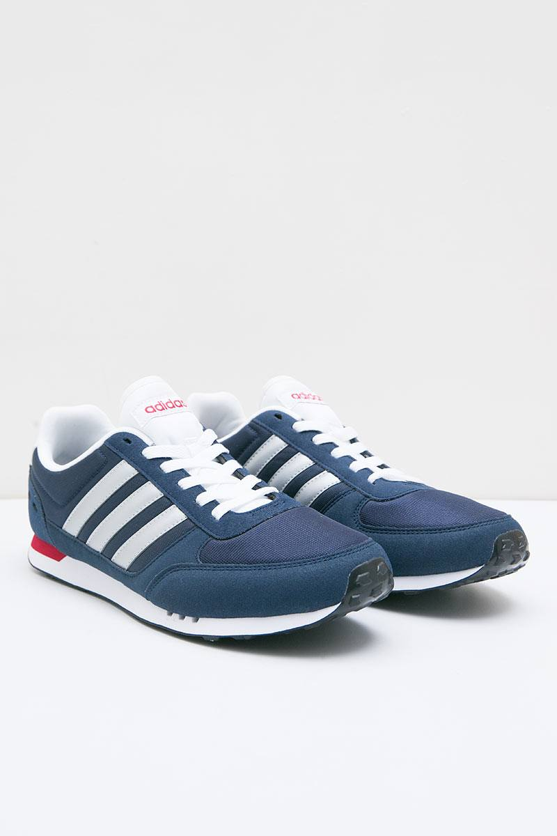 de819ded3 ... new zealand sell adidas neo city racer navy men sneakers berrybenka  b5012 d10aa