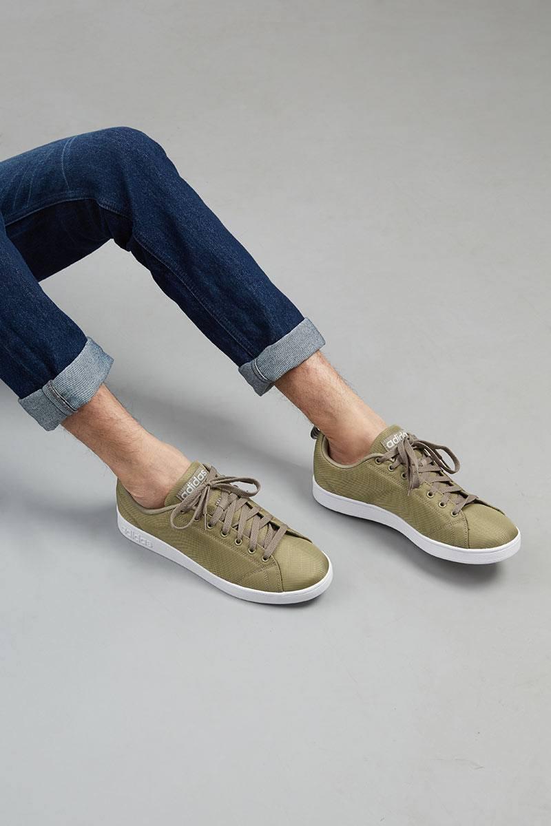 brand new e0ca5 88fee Sell Adidas VS Advantage CL Olive Men Sneakers  Berrybenka.c