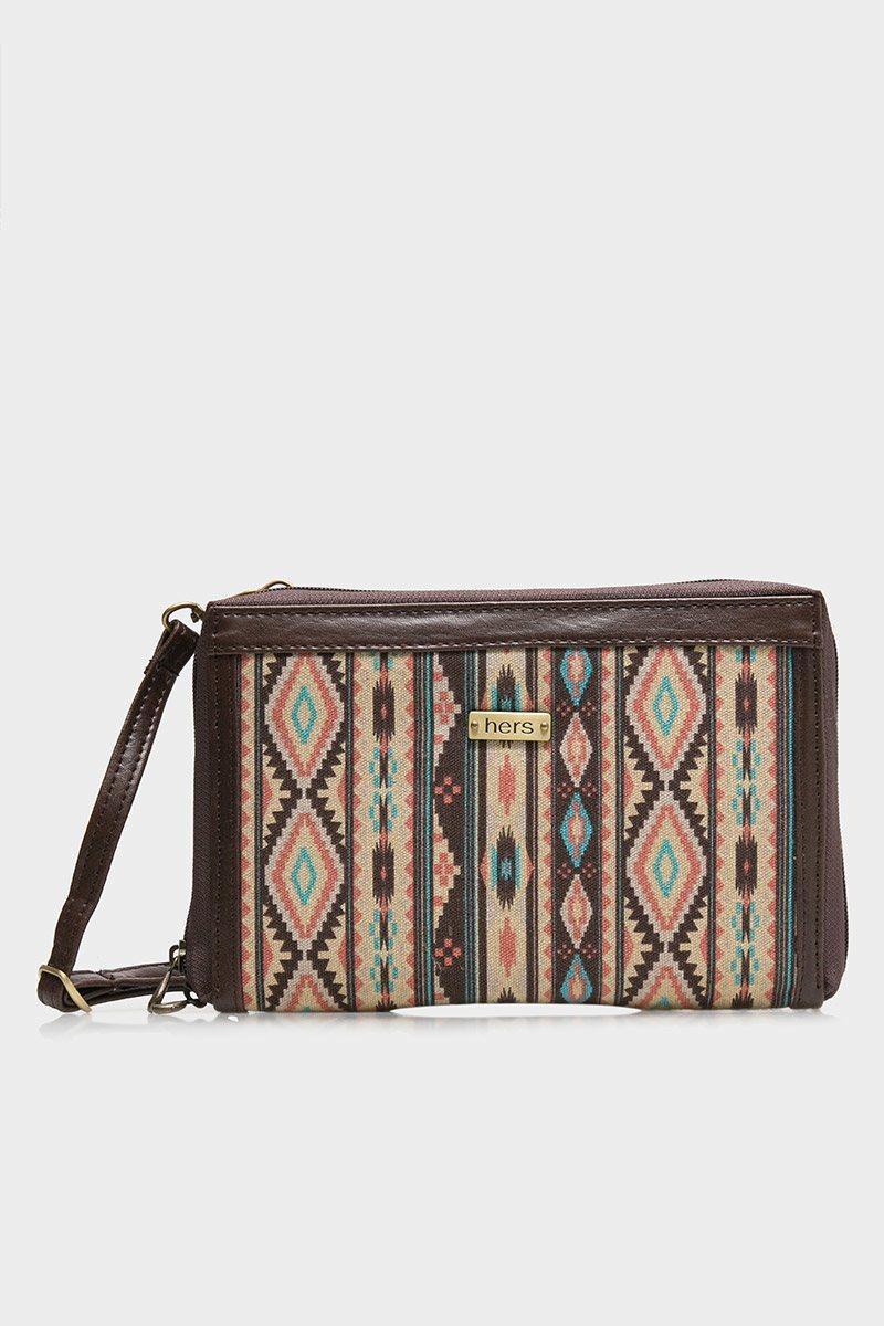 Sell Hers Bags Clutch Brown Multifungsi Motif Batik Cokelat Bag