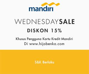 HB Mandiri Wednesday Sale