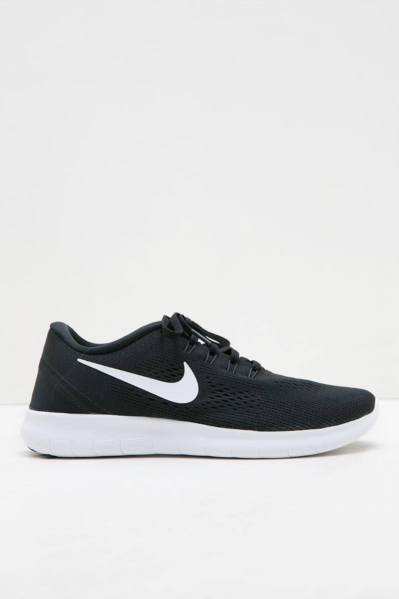 Womens Nike Free RN Running Shoe Black