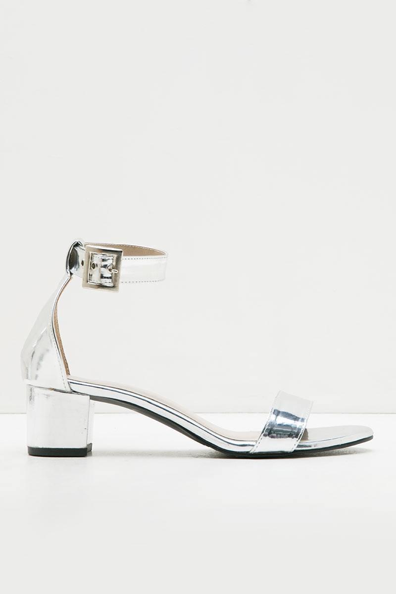 Chole CR Heels Silver