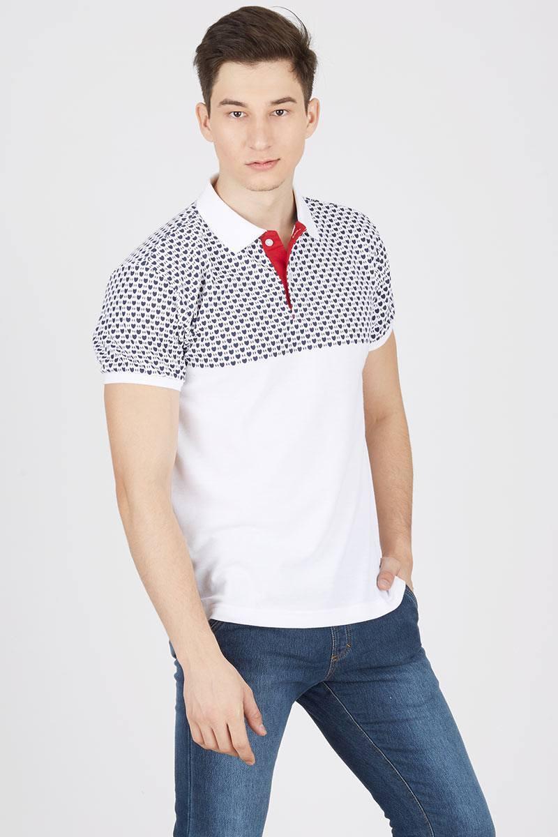 Polo Shirt Love Motif PF-7RC-6CW