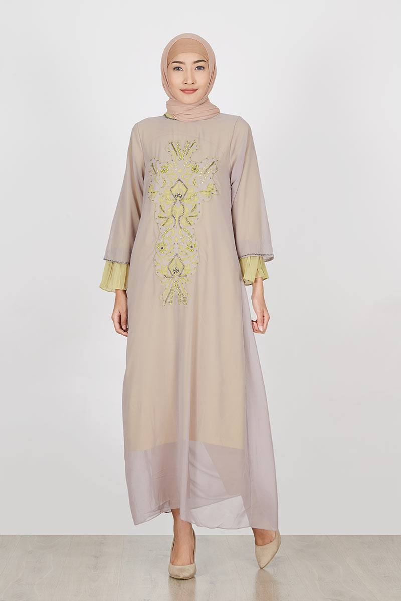 Sell Almira Kaftan Brown Dresses And Jumpsuit