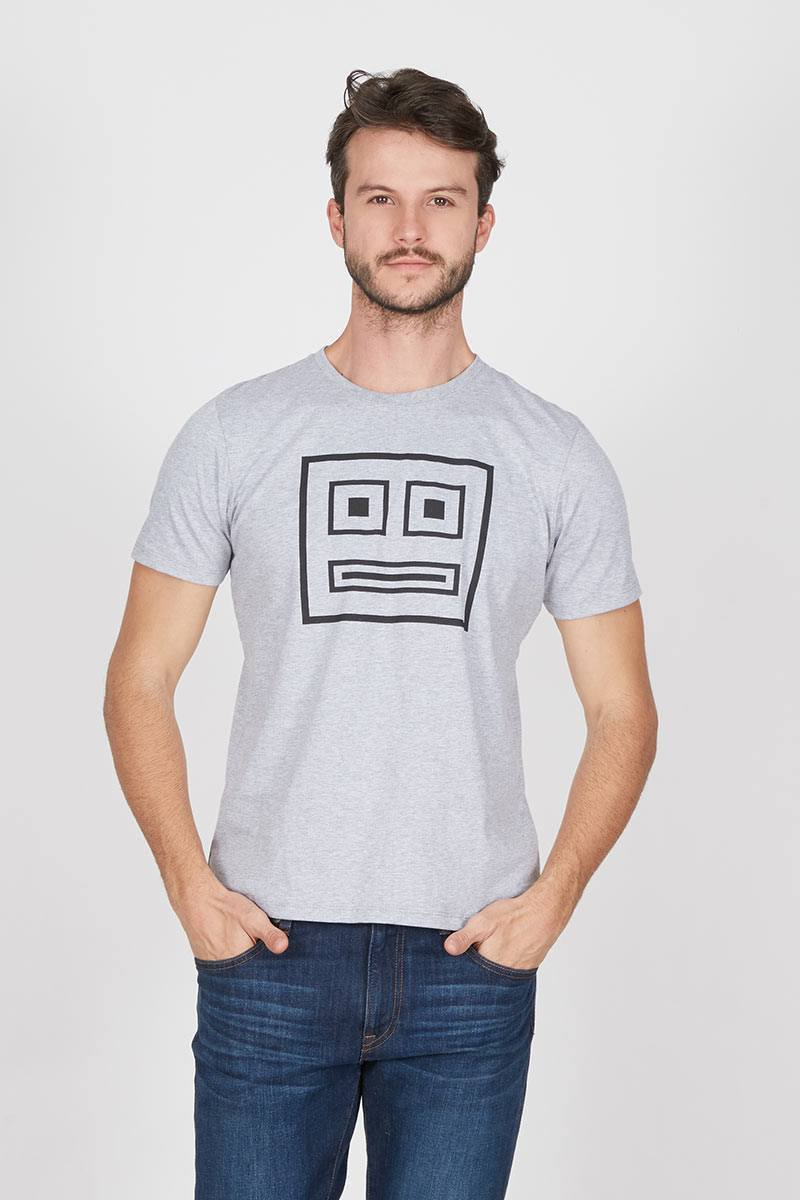 Men Robot Tshirt Misty