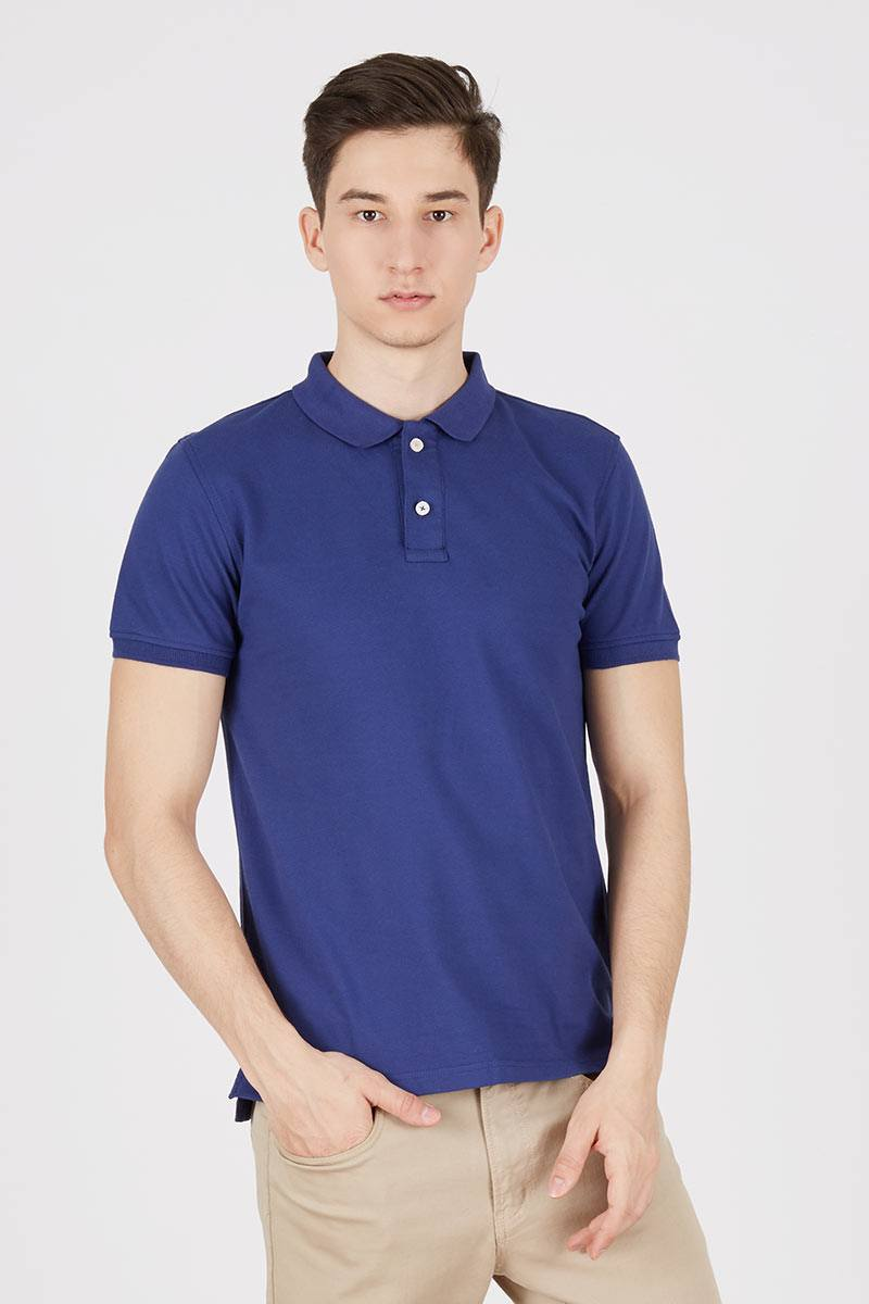 BLUE THE ESSENTIAL POLO SHIRT