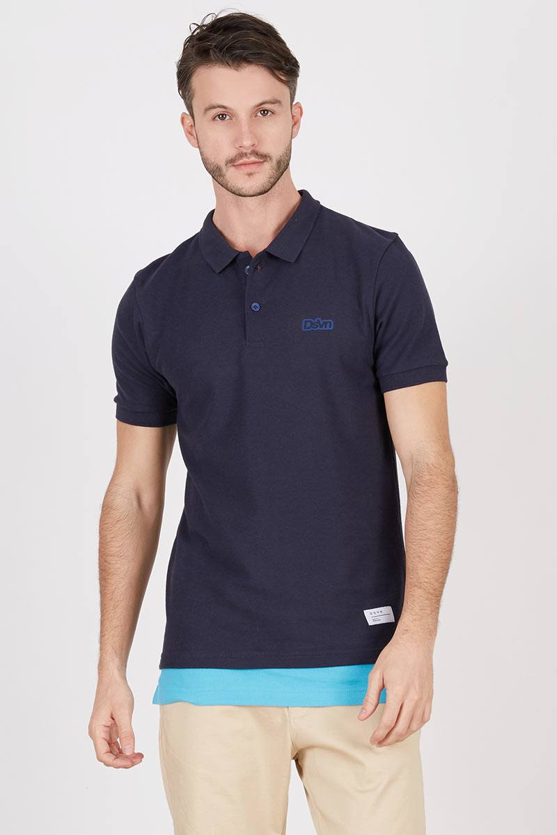 Men Winston Polo Navy