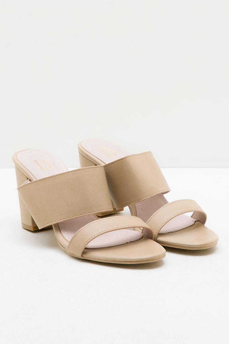 Erna Block Heels BEIGE
