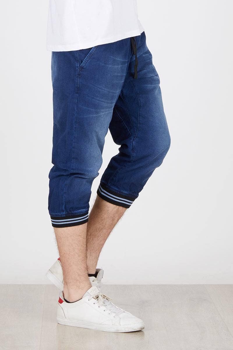 Harga Celana Casual Panjang 7 8 Pria Jogger Nine Two Queen Warna Grey Abu Muda 38 Denim Middle Pants In Dark Blue