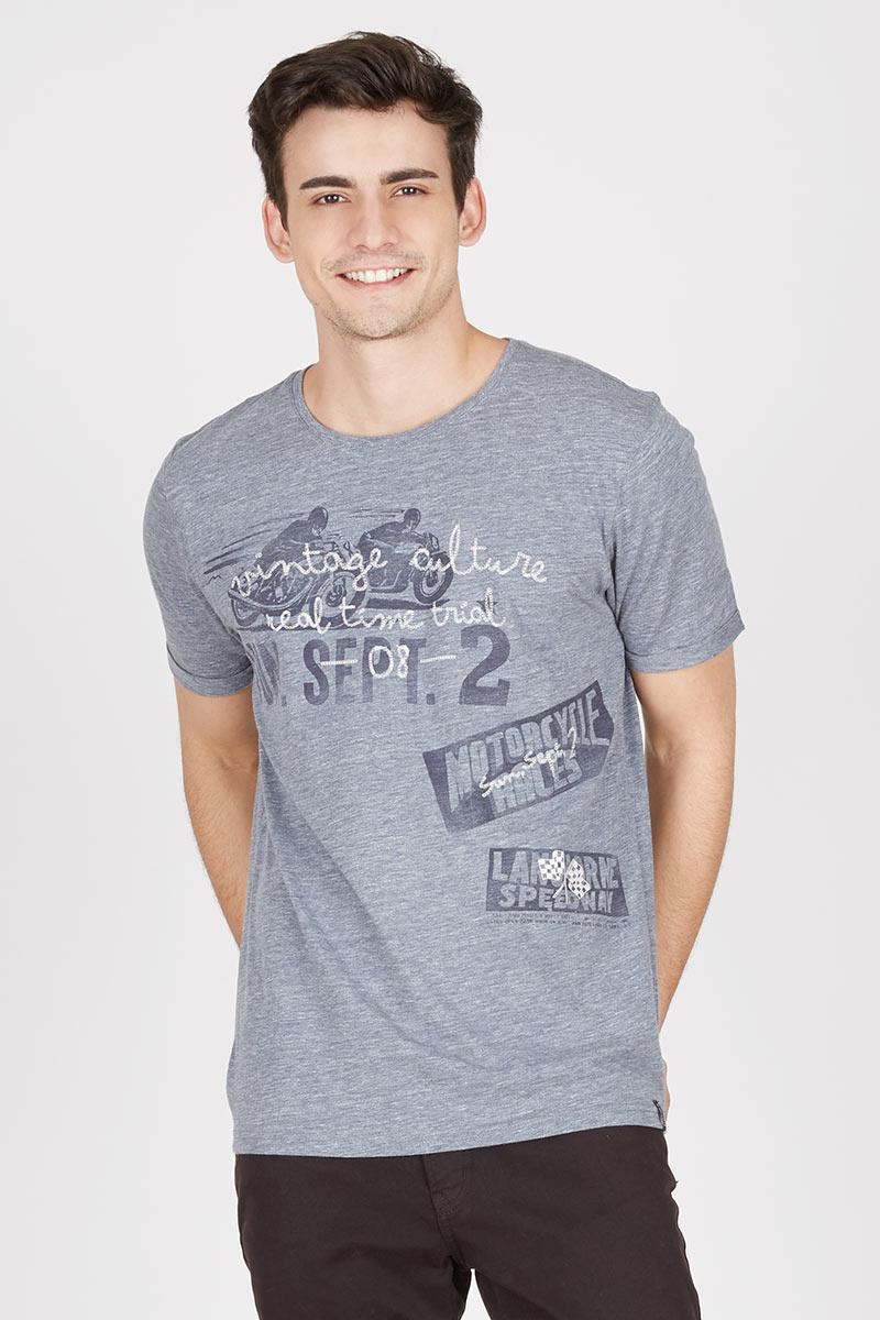 Men Roberto T-Shirt Grey