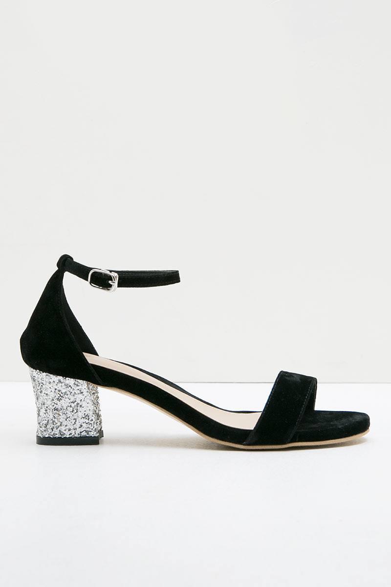 Zolly Glitter Black