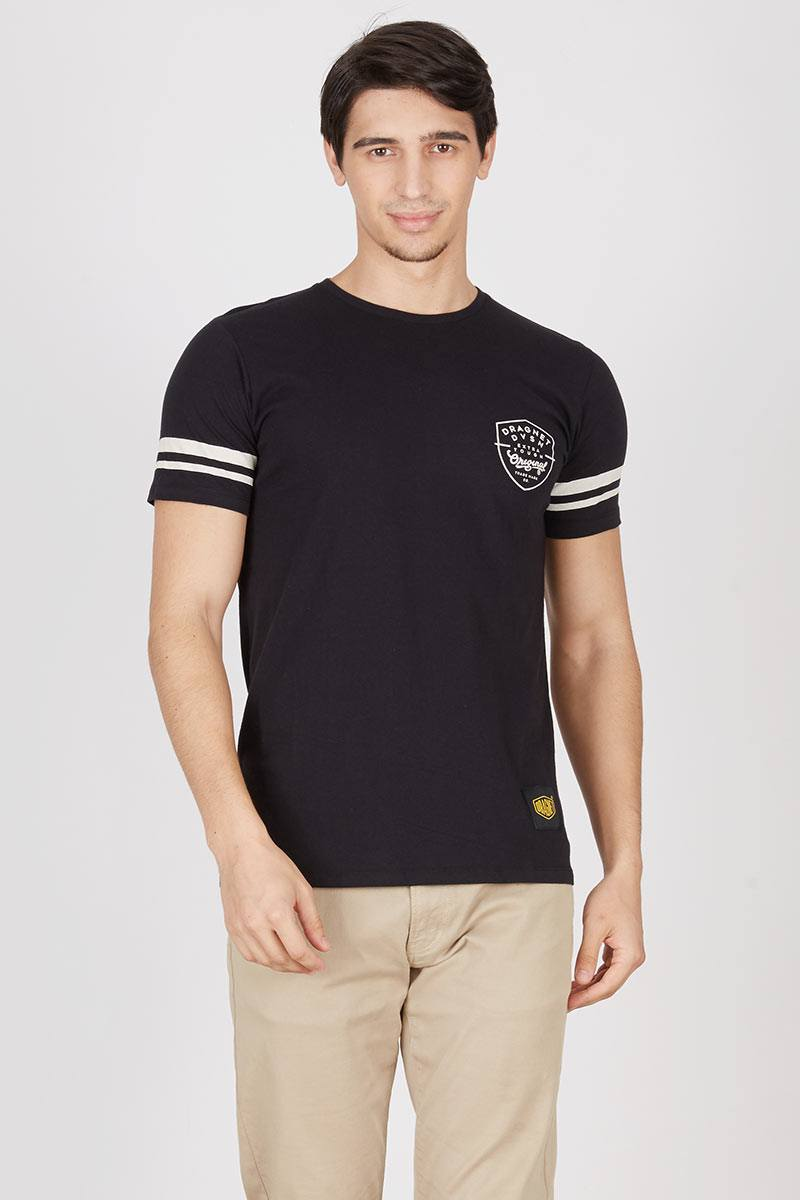 Men Dragnet division Original T-shirt Black