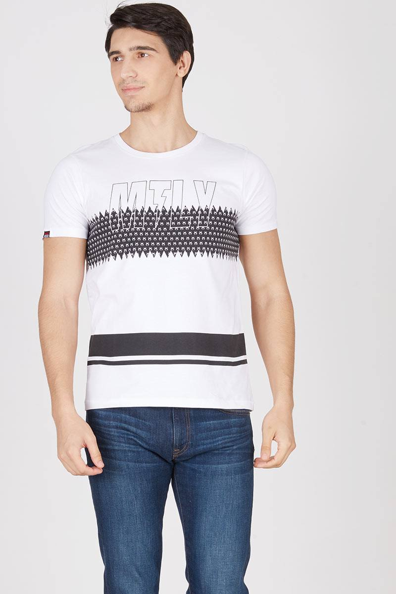 Graphic text basic tshirt 336111612