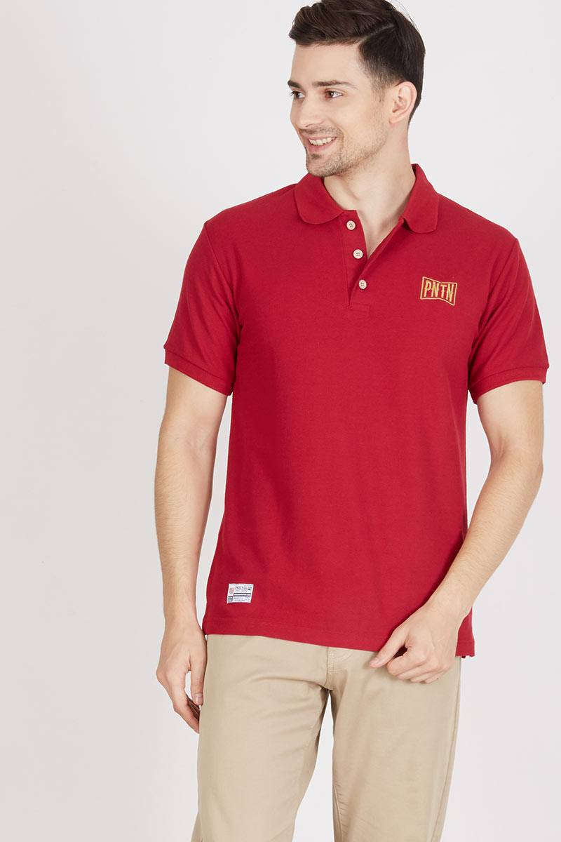 Men Boxing Maroon
