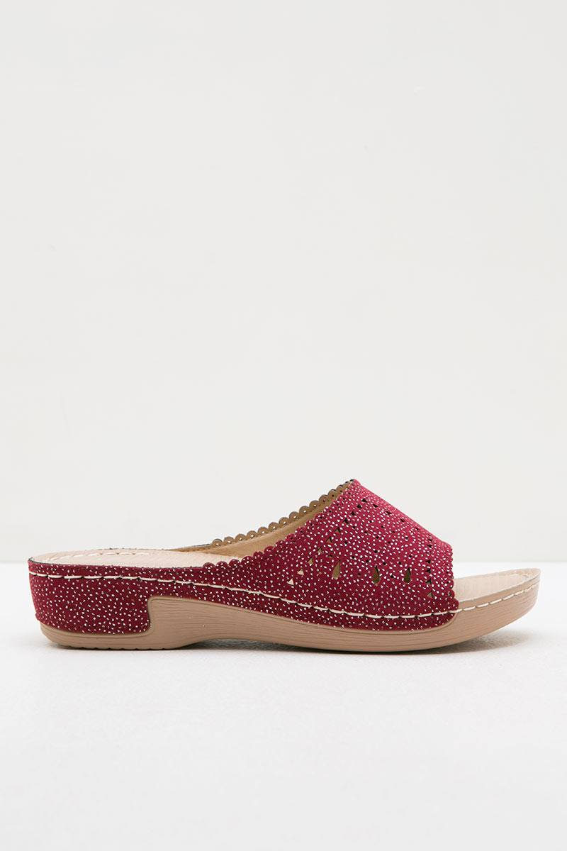 Austin Wedges Pollyna Red