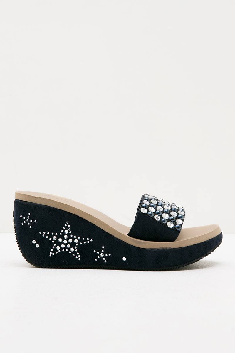 Austin Wedges Pasty Navy