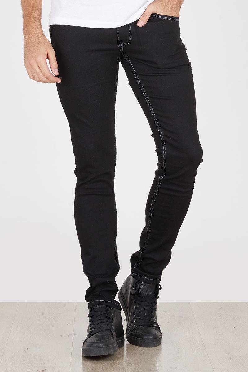 Harga Dasi Slim Hitam Polos Bergaris 2 Corak Pierre Long Jeans