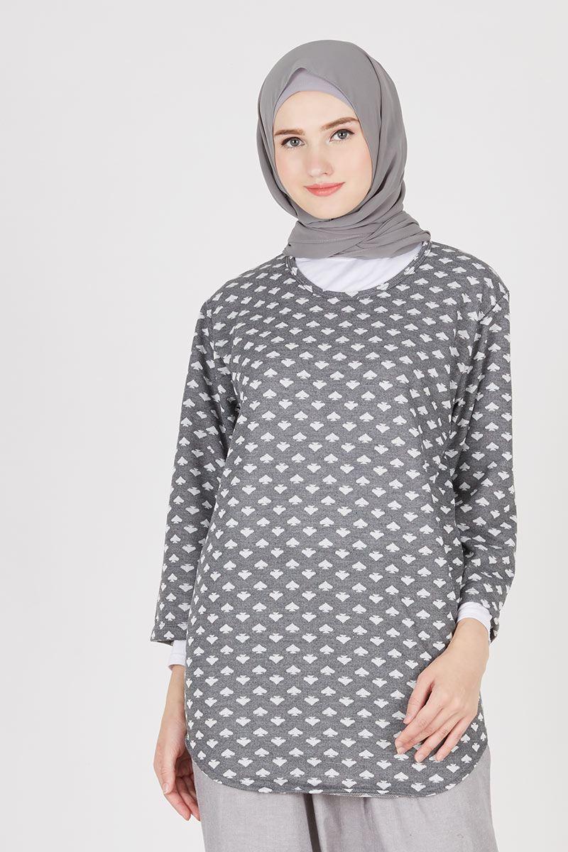 Arina Top Grey