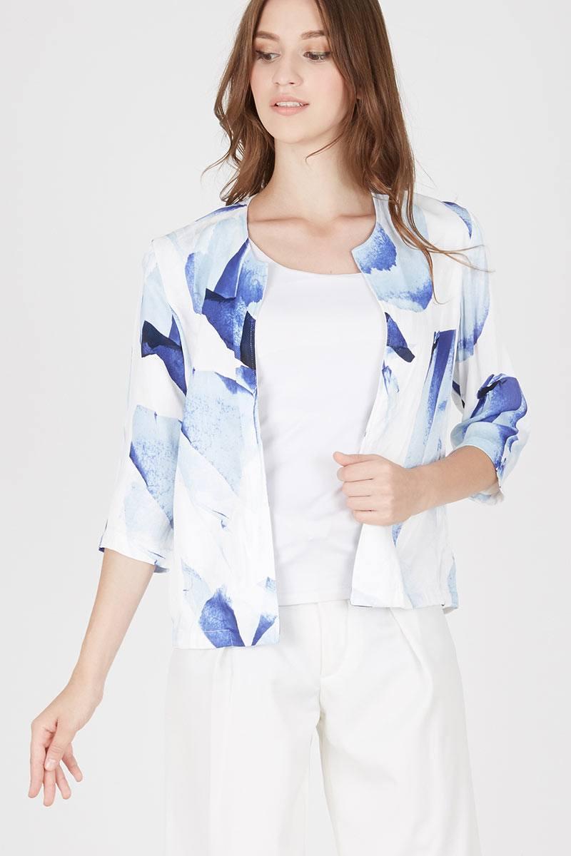 Harga Cano Blazer Cardigan Jaket Luaran Pakaian Wanita Jk431 Putih Asymmetric Kardigan Kimono Jk435 Zyla Moon