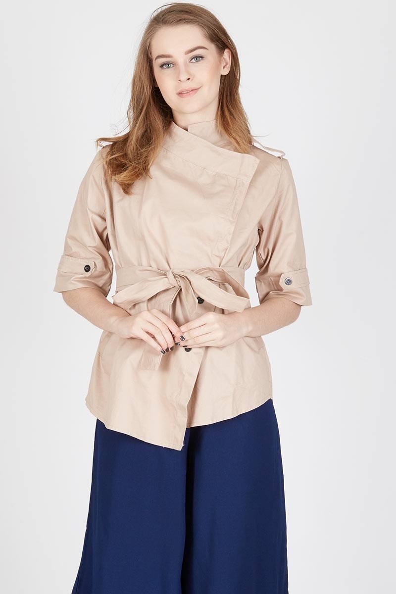 Harga Malvin British Blazer Choco Produk Ukm Bumn Jaket Catenzo Fleece