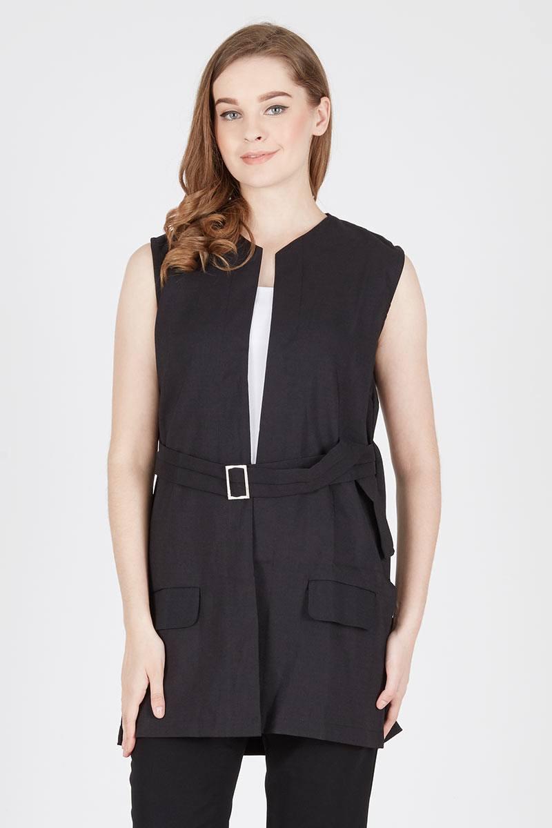 Harga Emery Coat Black Produk Ukm Bumn Jaket Catenzo Fleece