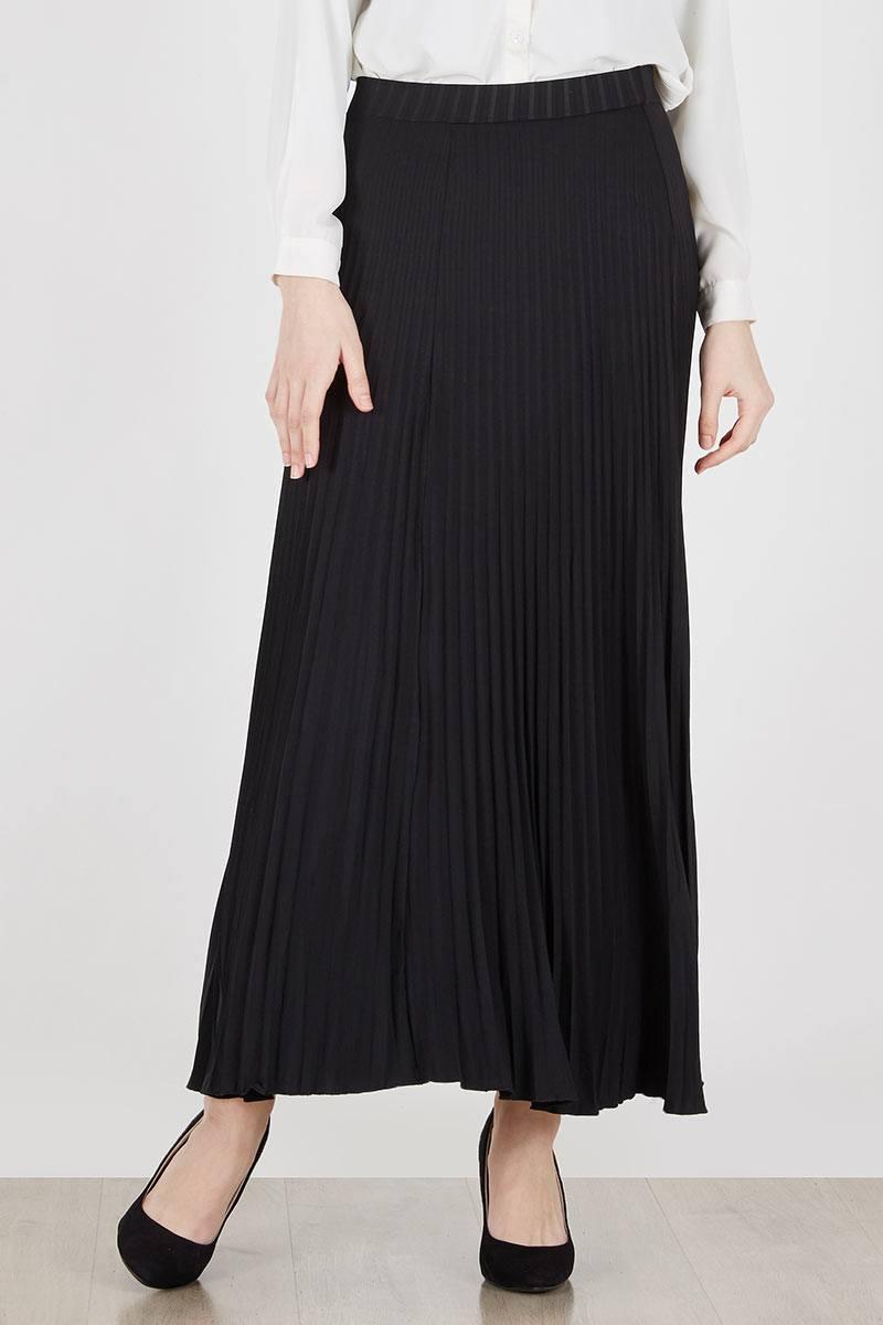 Delinks Plisket Midi Skirt Brpd18101 Brown Daftar Harga Terlengkap High Quality Clothing Long Pants Bcpj18100 Black