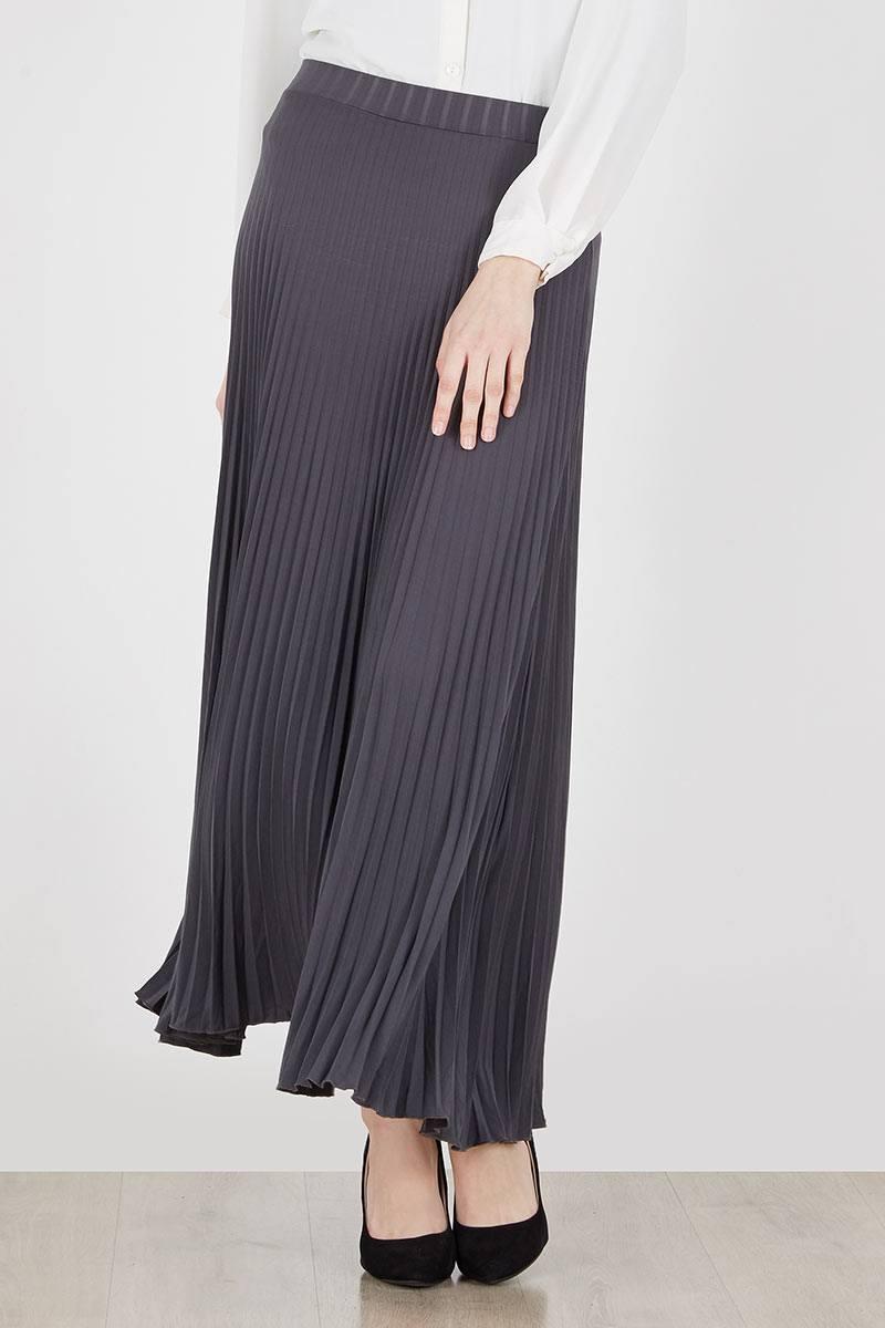 Delinks Plisket Long Skirt Brpj18105 Light Brown Daftar Harga High Quality Clothing Pants Bcpj18100 Dark Grey