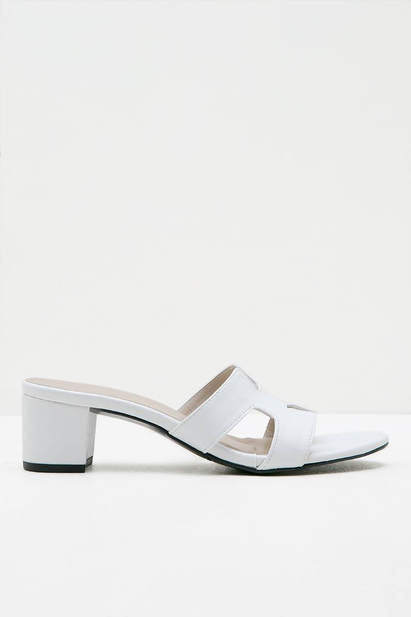 Heiress Heels White