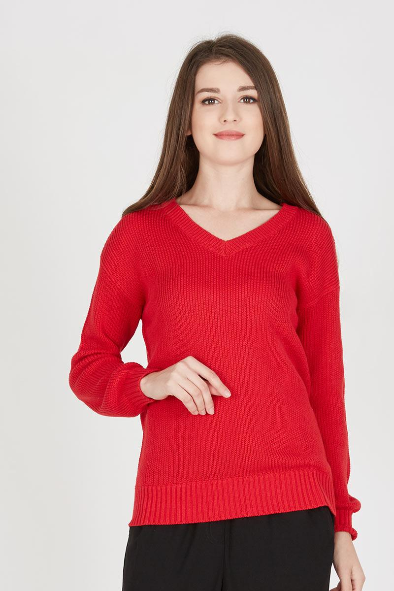 JANE SWEATER RED