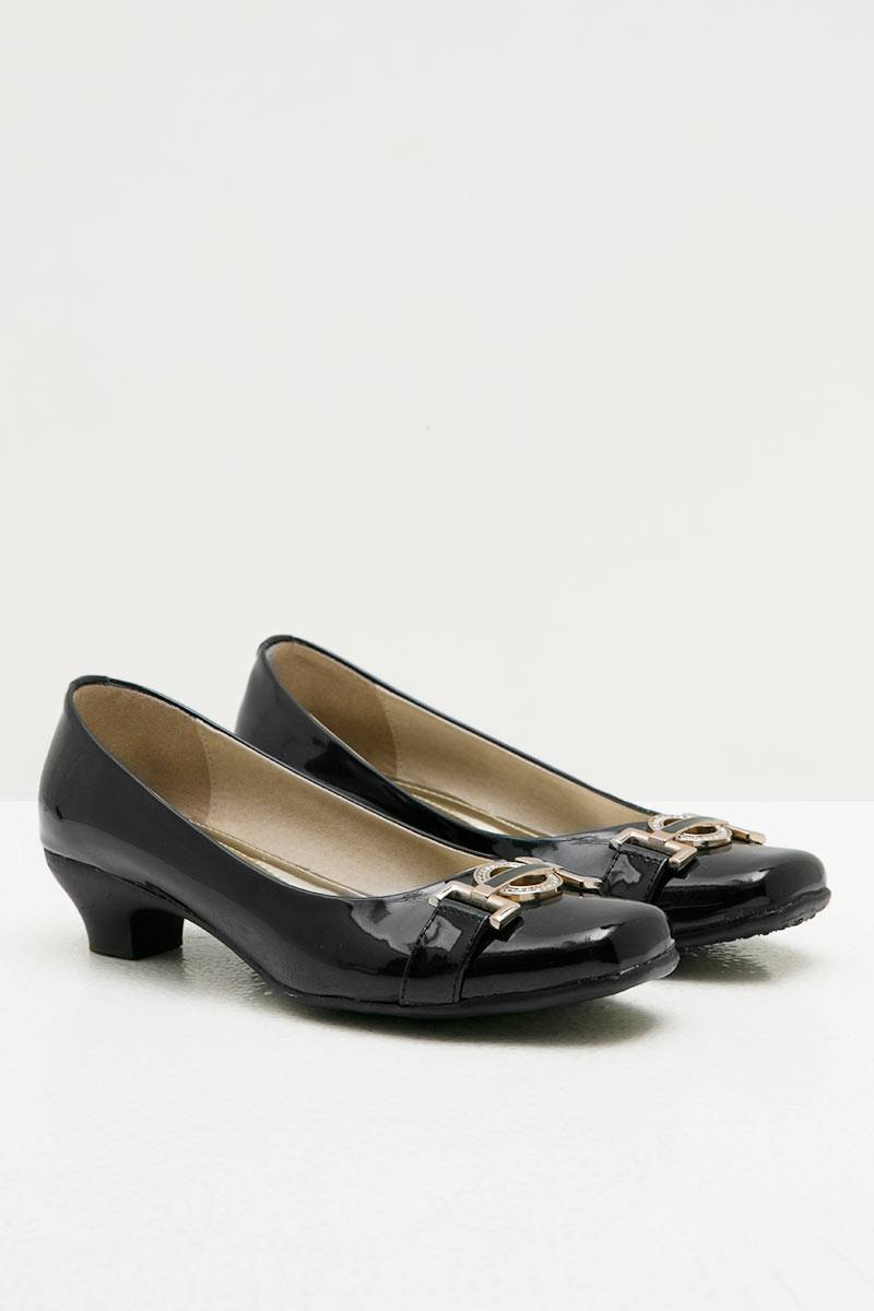 Ghirardelli Heels Abigail Black
