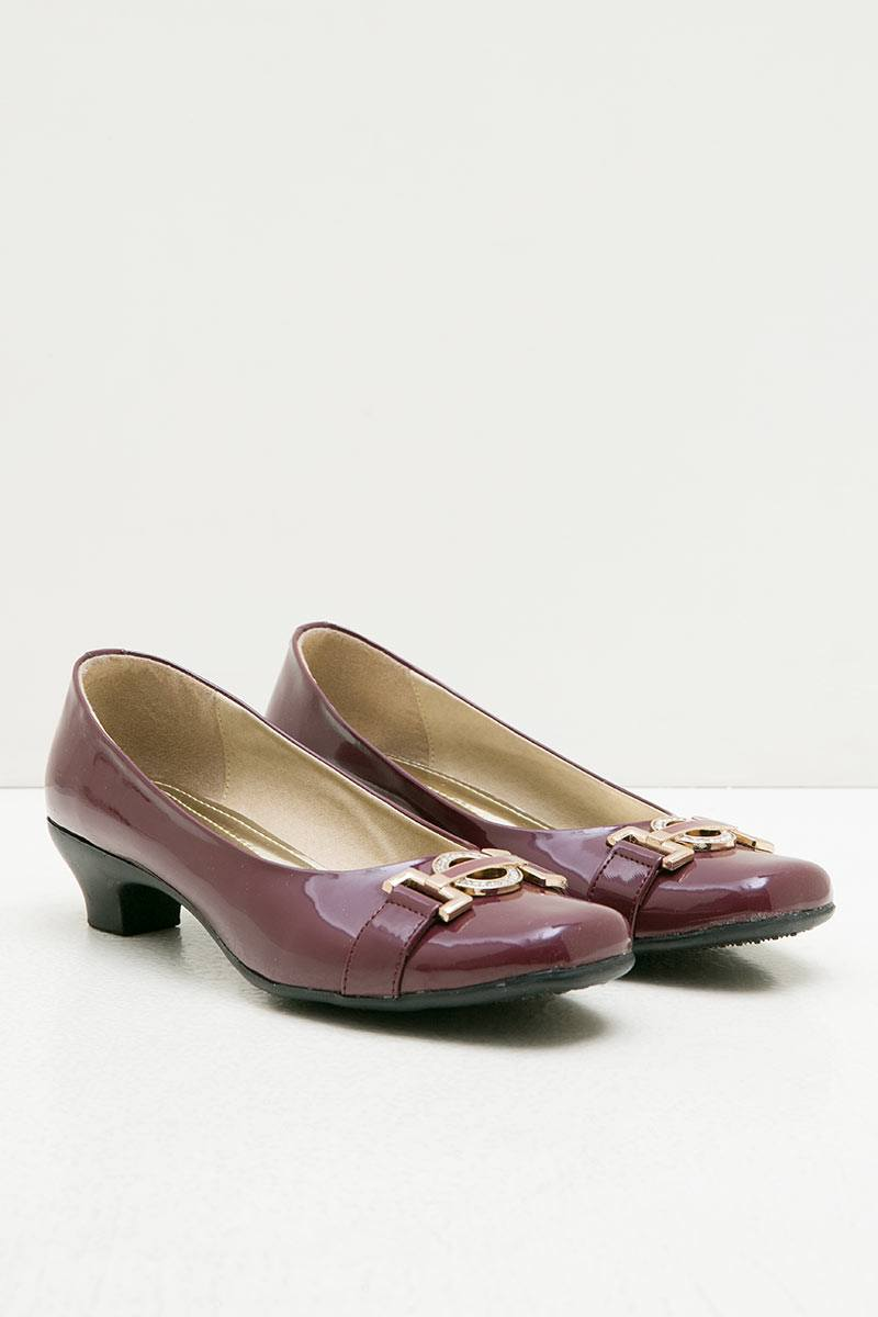 Ghirardelli Heels Abigail Maroon