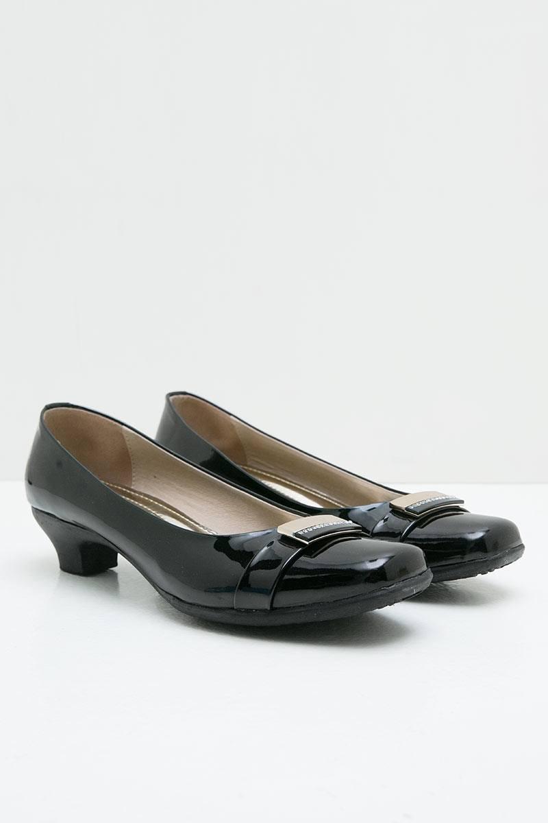 Ghirardelli Heels Afreen Black
