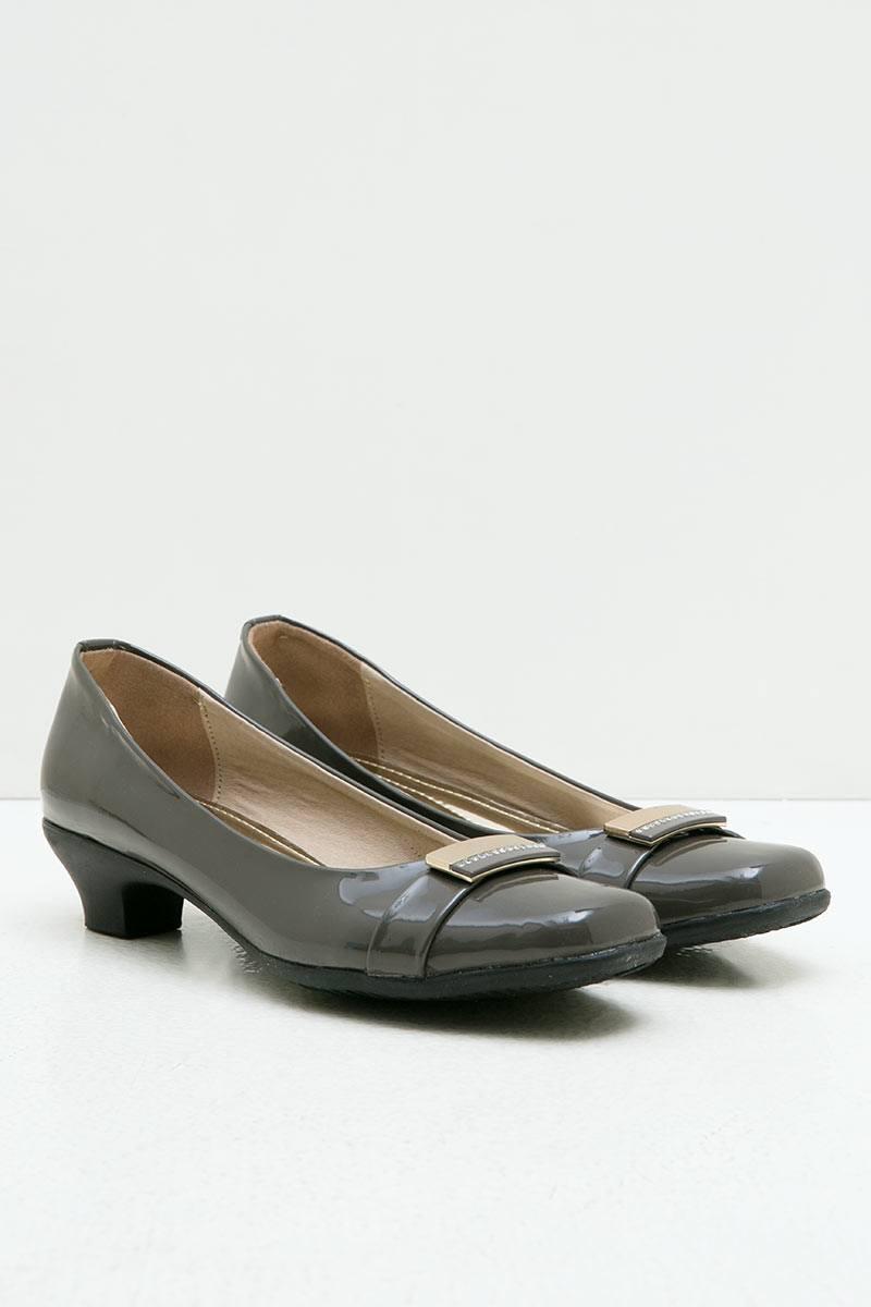 Ghirardelli Heels Afreen Grey