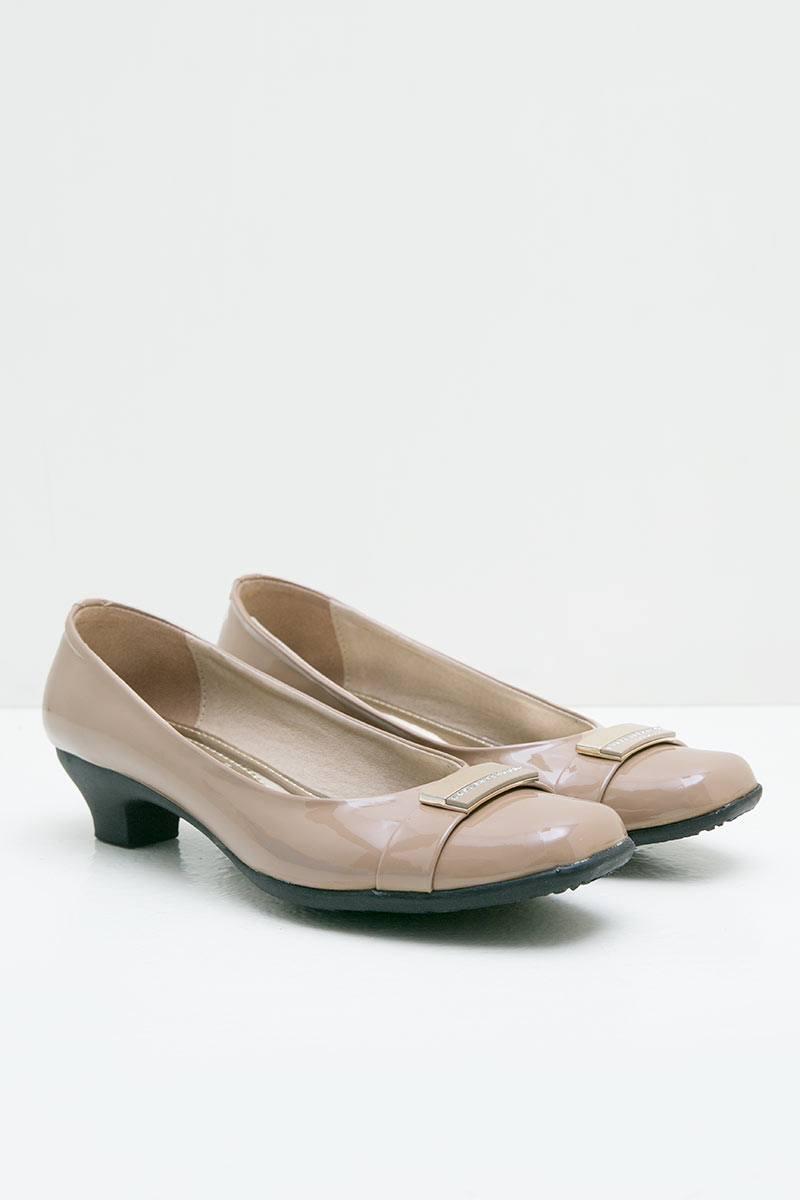 Ghirardelli Heels Afreen Cream