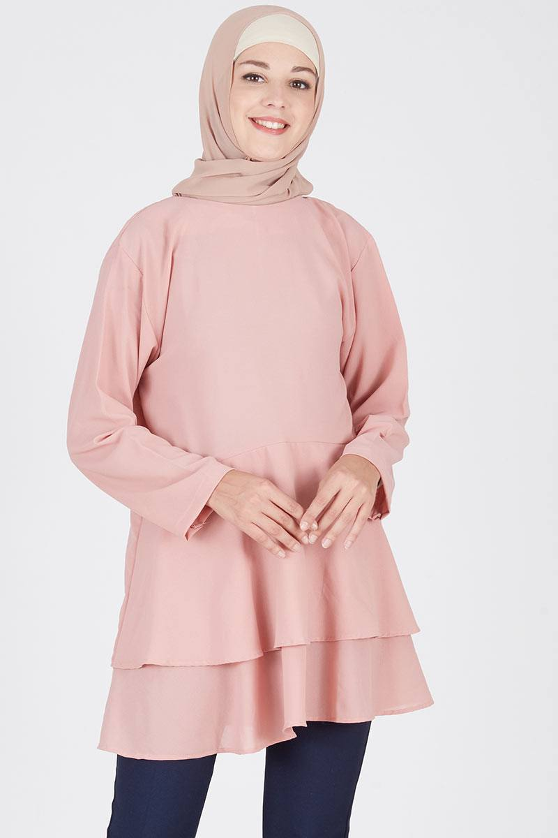 Callie Blouse Dusty Pink