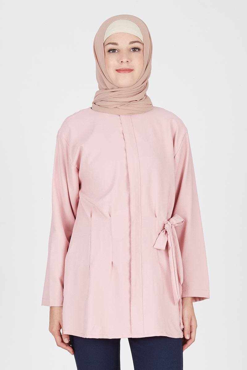 Farzana Blouse Dusty Pink