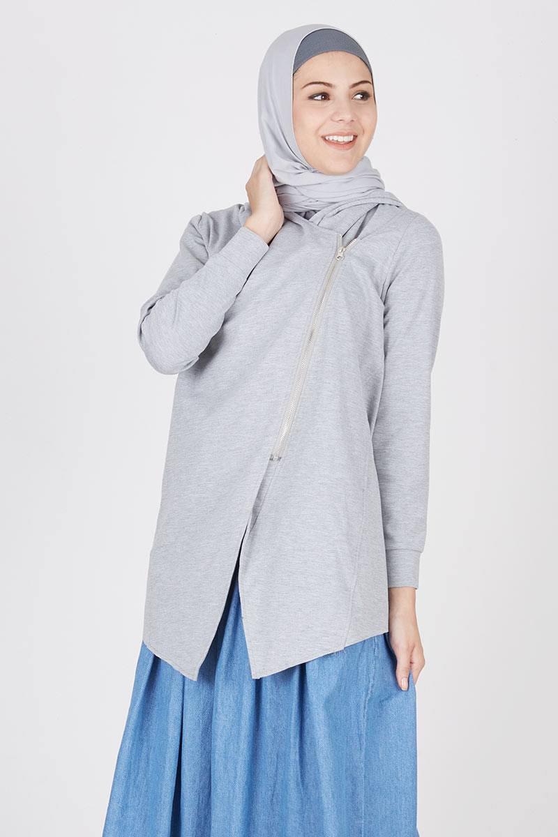 Harga Carie Outer Brown Produk Ukm Bumn Jaket Catenzo Fleece Grey