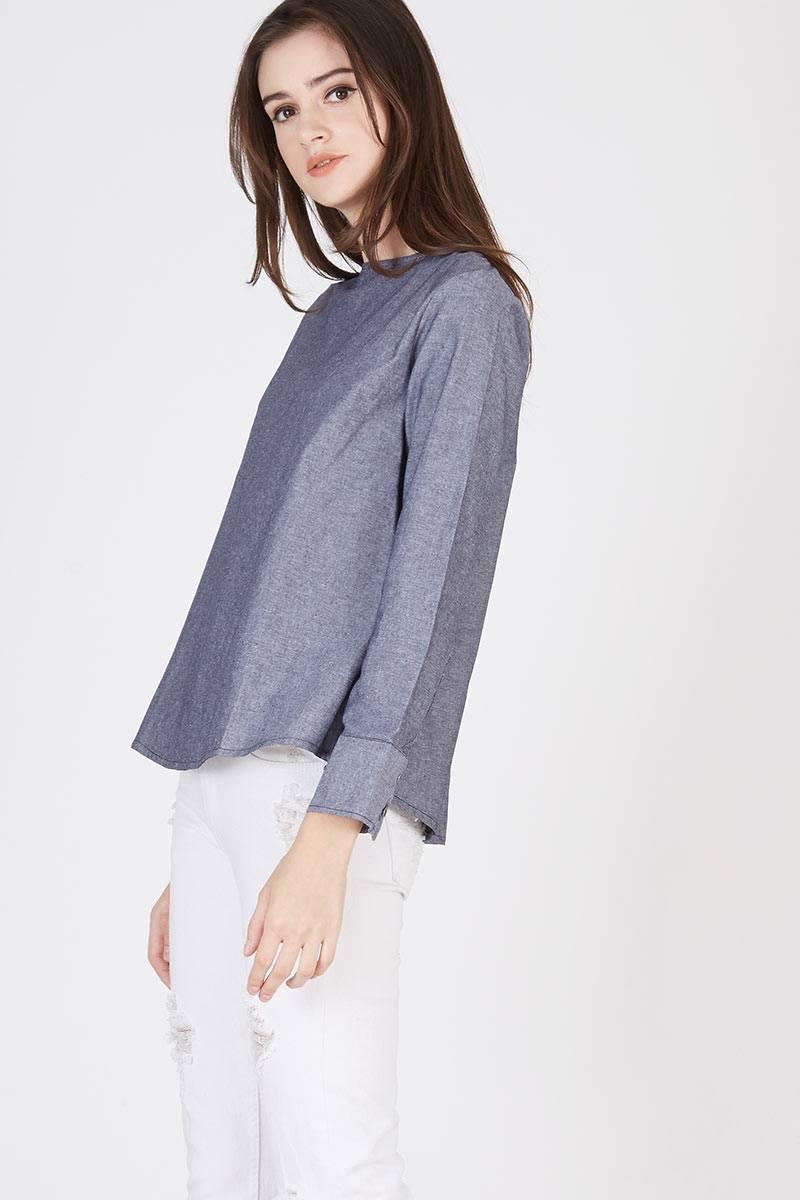 Bags En Ji By Palomino Derra Handbag Grey 181870 Mel Tie Up Top 55bk0