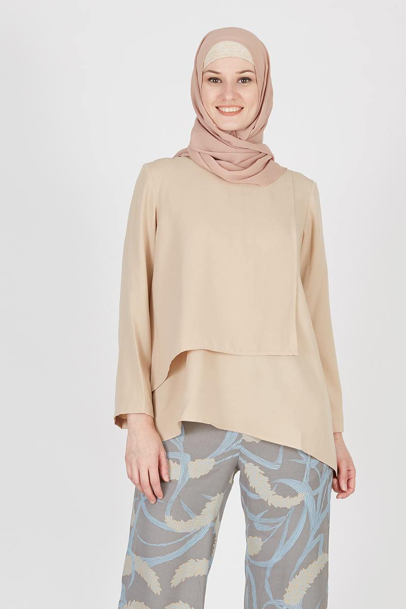 Gemma Top Plain Nude