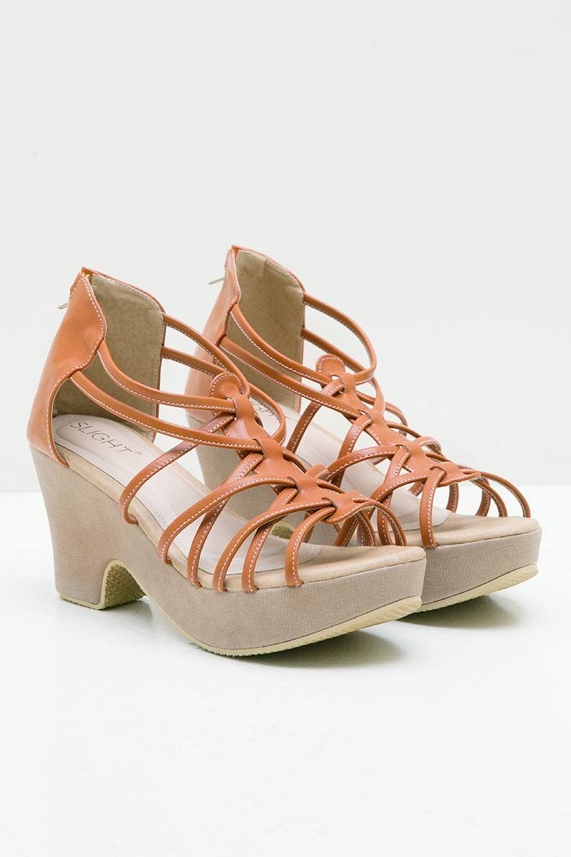 WEDGES SAMANTHA ORANGE