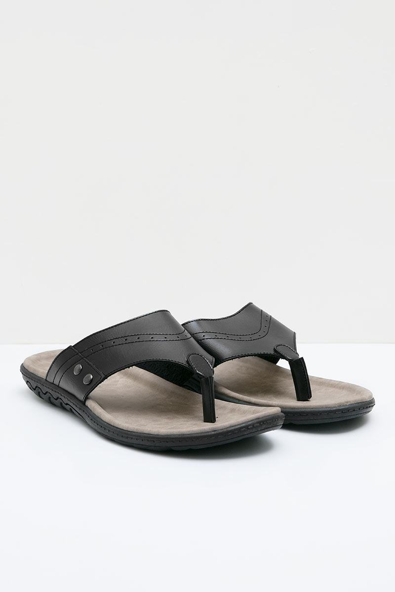 Men 42040025 Sandal Black
