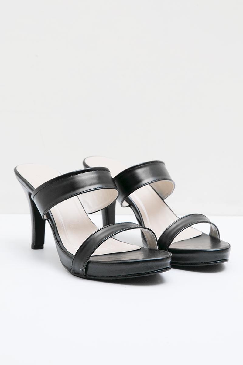 Topaz Heels in Black