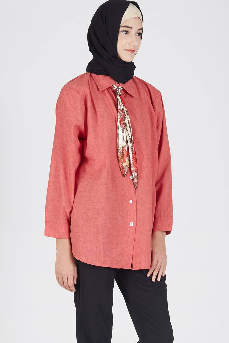 Syall Top Red