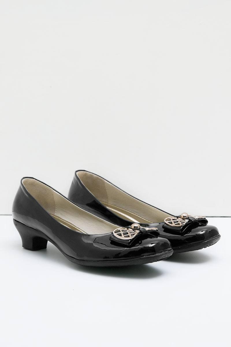 Ghirardelli Heels Vienna Black